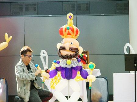 SHINOさんのバルーンアートショー